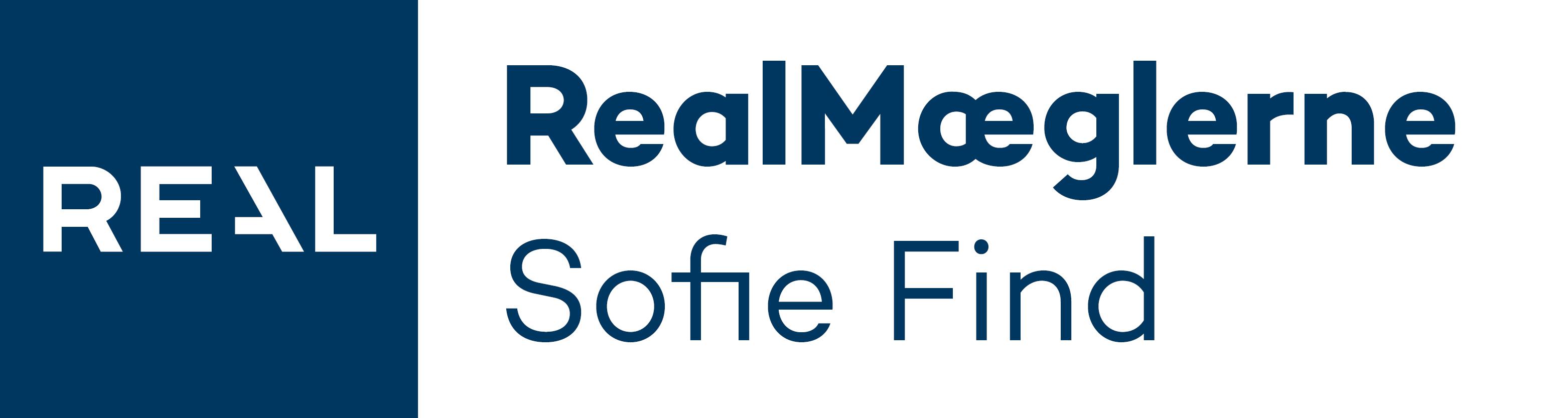 Realmaeglerne Sofie Find logo